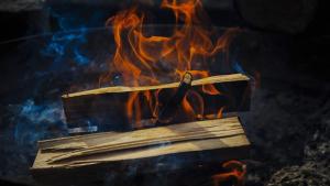Wood burning
